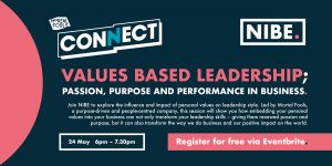 Values based leadership; passion, purpose and performance in business @ Online